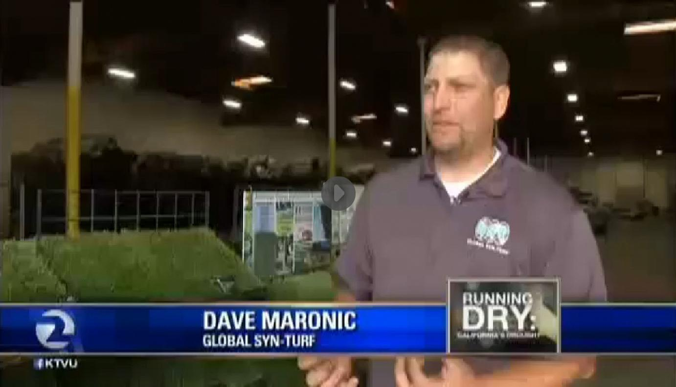 outdoorcarpet California Drought Salvation - Global Syn-Turf at San Francisco's Fox News