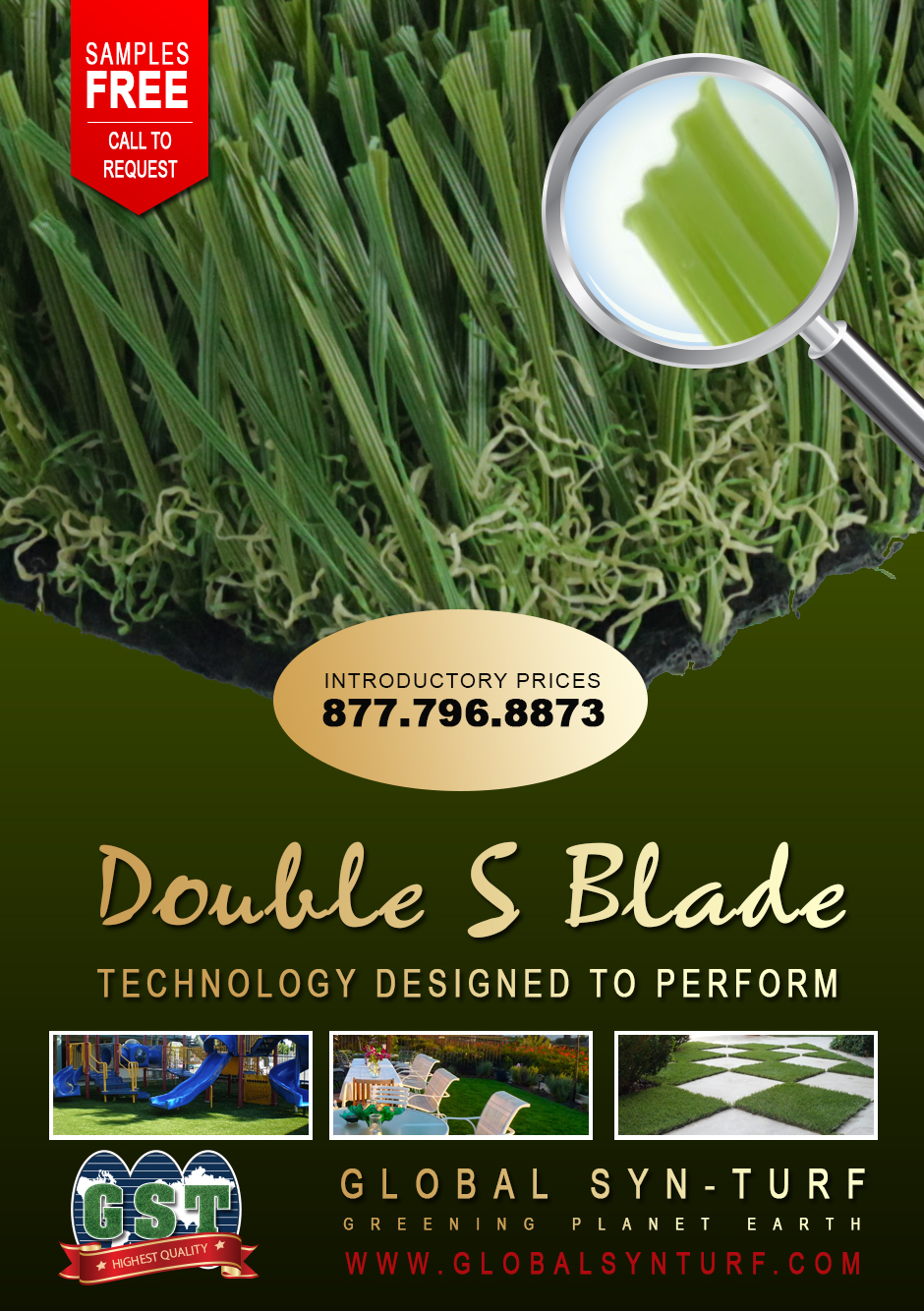 outdoorcarpet Global Syn-Turf Launches Premium Double S Blade Artificial Grass Technology