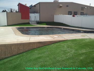 Artificial Grass Photos: Artificial Turf Aurora, Colorado Landscape Design, Above Ground Swimming Pool