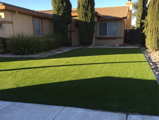 Artificial Grass Photos: Artificial Turf Installation Crested Butte, Colorado Landscaping, Front Yard Landscaping