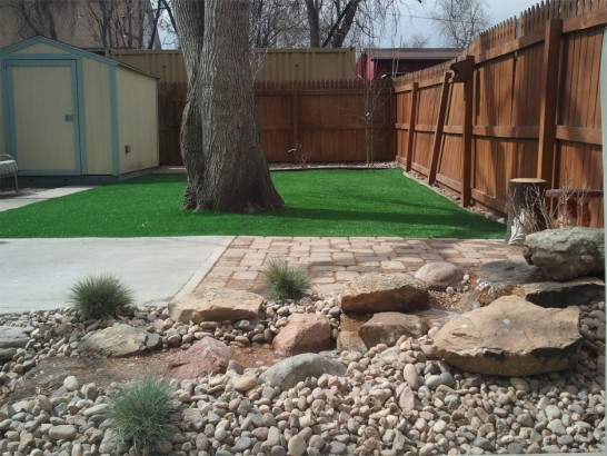 Artificial Grass Photos: How To Install Artificial Grass Kit Carson, Colorado Lawn And Garden, Backyard Landscape Ideas