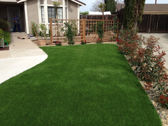 Artificial Grass Photos: Installing Artificial Grass Silt, Colorado Landscape Ideas, Front Yard Landscaping