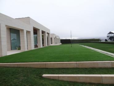 Artificial Grass Photos: Synthetic Grass Greenwood Village, Colorado Paver Patio, Commercial Landscape