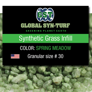 Artificial Grass Installation Infill Materials: 