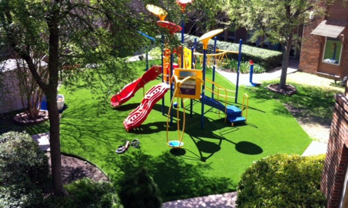 Artificial Grass for Playgrounds in Denver